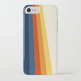 Bright 70's Retro Stripes iPhone Case