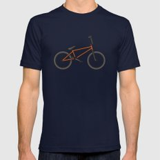 #17 BMX Navy 2X-LARGE Mens Fitted Tee