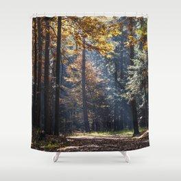 Colorful autumn Shower Curtain