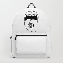 open mind pill Backpack