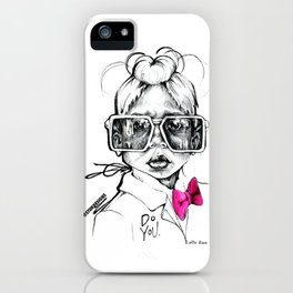 #STUKGIRL Penny iPhone Case