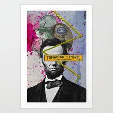 Public Figures -  Lincoln Art Print