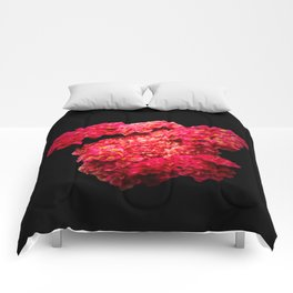 Think Flowers - Red Yarrow Comforters