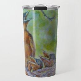 Birds Nesting by Marianne Fadden Travel Mug