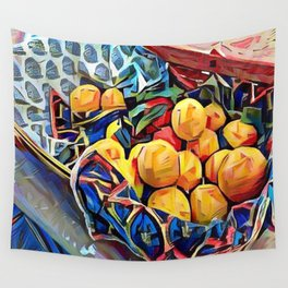 LEMON ZEST Wall Tapestry