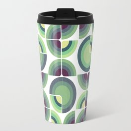 Green Fields Pattern Travel Mug