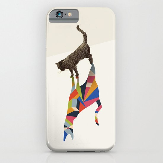 Walking Shadow, Cat iPhone & iPod Case
