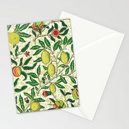 William Morris Exotic Fruit, Lemons and Pomegranates Stationery Cards