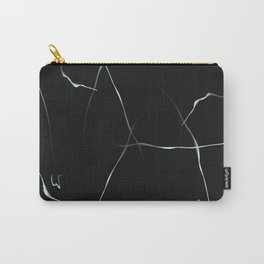 Marble Lines Carry-All Pouch