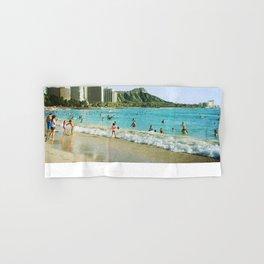 Diamond Head & Waikiki Hand & Bath Towel