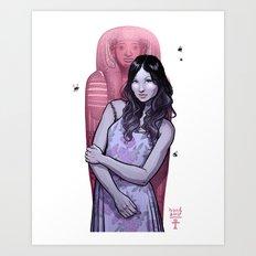 DEAD WIFE Art Print