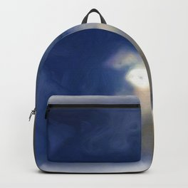 Cloudy Night Sky Impression Backpack