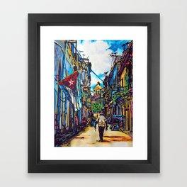 Havana, CUBA No.2   2015 Framed Art Print