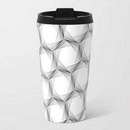 crazy hexagons Travel Mug