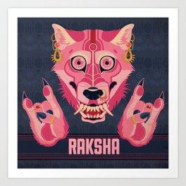 Raksha Art Print