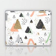 Triangles & textures watercolor Laptop & iPad Skin