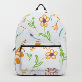 Playful Flowers Backpack