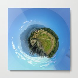 Mountain path, Revelstoke, British Columbia Metal Print