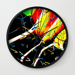 Searching For The Perfect Shirt Wall Clock
