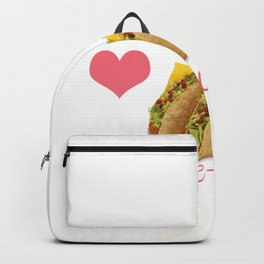 Tacos Before Vatos Gift for Women  Product Backpack
