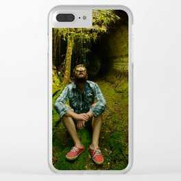 Underground hide outs Clear iPhone Case