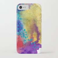 shield iPhone & iPod Cases featuring Shield by Jessalin Beutler