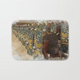 Roman Legion in Battle Bath Mat