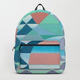 Pyramid Sun Orange Backpack