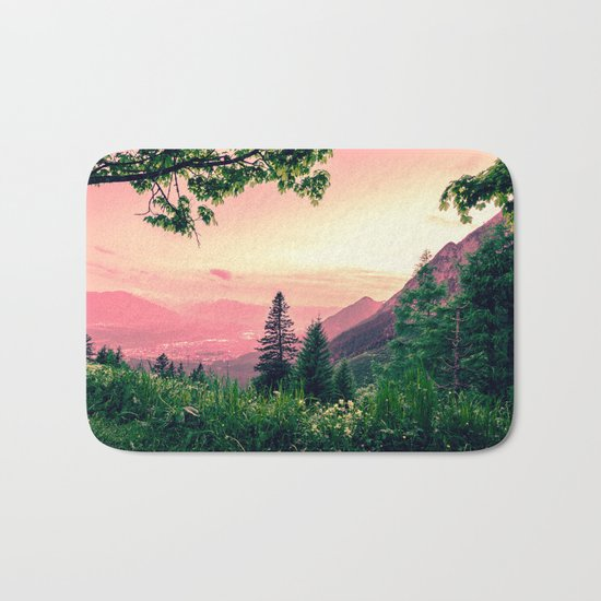 Alpine Fairytale Bath Mat