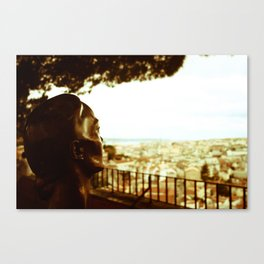 City Look Out Canvas Print