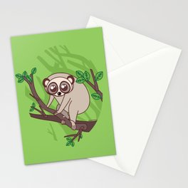 Kawaii loris Stationery Cards