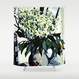"""Flannel Flowers"" by Australin Margaret Preston Shower Curtain"