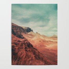 Aliens on Skye Poster