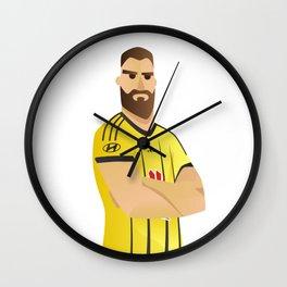 Captain Dura Wall Clock