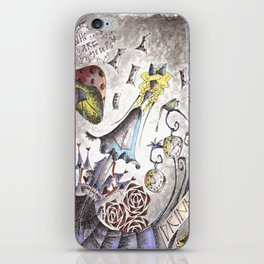 We're All Mad iPhone Skin