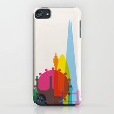 Shapes of London. Accurate to scale iPod touch Slim Case