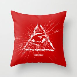Under His Eye Throw Pillow