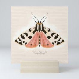 Crimson Tiger Moth Mini Art Print