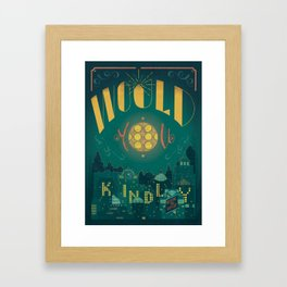 Would You Kindly (Bioshock) Framed Art Print