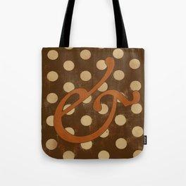 Garamond Italic Ampersand Tote Bag