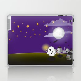 halloween hedgehogs party gang Laptop & iPad Skin