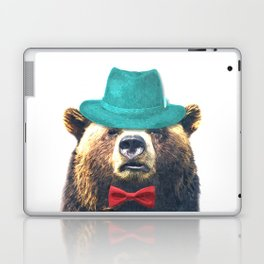Funny Bear Illustration Laptop & iPad Skin