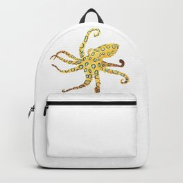 Blue-ringed Octopus (Octopussy) Backpack