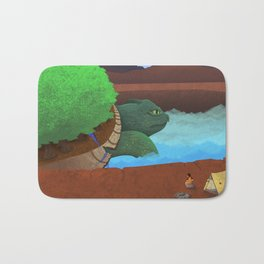 In the Valley of the Ancients Bath Mat