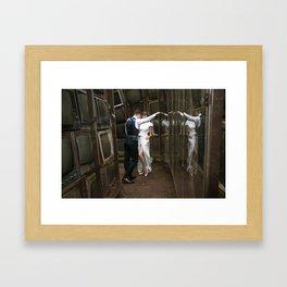 Give and Take Framed Art Print