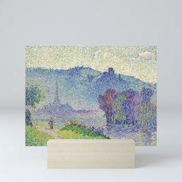 "Henri-Edmond Cross ""Les Andelys, Château Gaillard, Seine"" Mini Art Print"