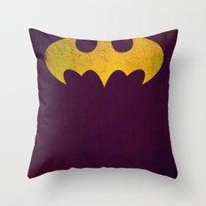 Batgirl Throw Pillow