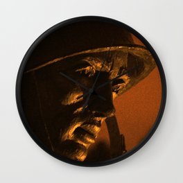 The Soldier's Heart Wall Clock