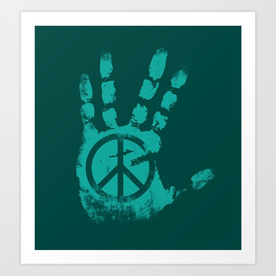 came in peace Art Print
