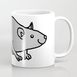 Year of the Rat - Metal Coffee Mug